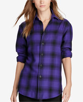 Polo Ralph Lauren Plaid Relaxed Fit Flannel Shirt