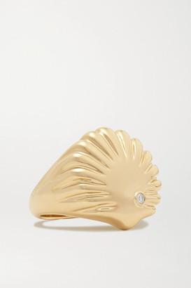 Yvonne Léon 9-karat Gold Diamond Ring - 4