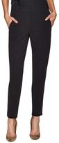 Narciso Rodriguez Wool Side Slip Skinny Pant