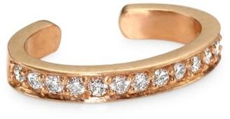 Anita Ko 18K Rose Gold Diamond Pave Ear Cuff