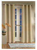 "Thermalogic Weathermate Grommet Top Curtain Panel Pair - Yellow (80 x 95"")"