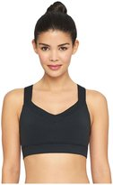Yummie by Heather Thomson Edie Wire-free Cross-Back Active Bra - Black - Large