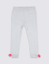 Marks and Spencer Pure Cotton Knitted Leggings (3 Months - 6 Years)