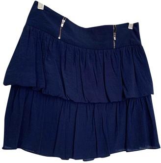 Sandro Blue Skirt for Women