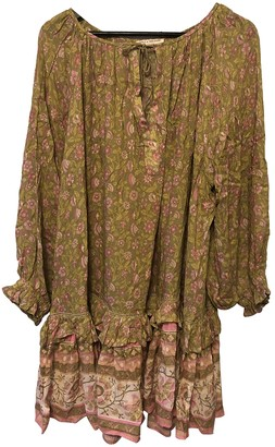 Spell & The Gypsy Collective Green Cotton Dress for Women