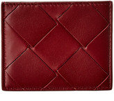 Bottega Veneta Maxi Intrecciato Leather Card Case