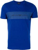 Emporio Armani printed T-shirt - men - Cotton - M