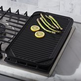 Crate & Barrel Reversible Ceramic Double Griddle