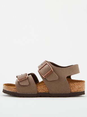 Birkenstock Boys New York Strap Sandals - Mocha
