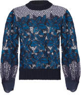 Sea Mosaic Lace Sweatshirt