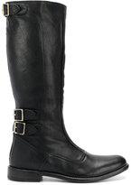 Paul Smith calf length buckle boots
