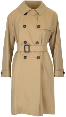 Max Mara Double Breasted Belted Coat