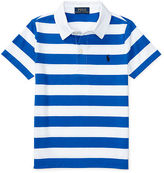 Ralph Lauren Striped Cotton-Blend Polo