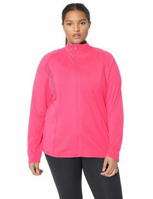 Fruit of the Loom Women's Plus Size Active Mesh Jacket