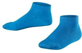 Falke Kids Family Trainer Socks - 94% Cotton, Blue ( 6160), (Manufacturer size: 19-22), 1 Pair