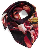 Echo Women's Icy Flora Silk Square Scarf