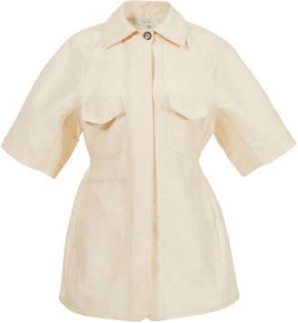 Lvir Wool-Silk Short Sleeve Jacket