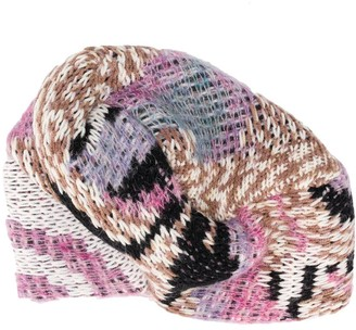 Missoni Contrast Knitted Hat