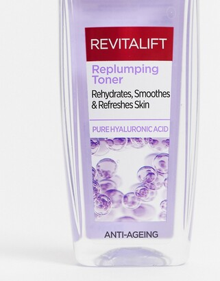 L'Oreal Revitalift Filler Hyaluronic Acid Face Toner-No colour