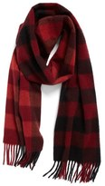Nordstrom 'Blocked Checks' Cashmere Scarf