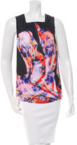 Clover Canyon Digital Floral Printed Sleeveless Top w/ Tags