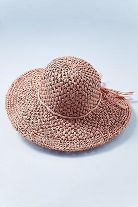 Rose Straw Hat