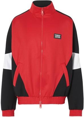 Burberry Logo Applique Track Jacket