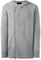 Diesel Black Gold striped zipped hoodie