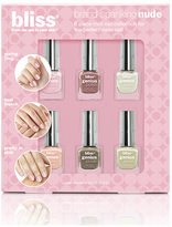 Bliss 6 Piece Mini Nail Polish Set (Brand Spanking Nude)