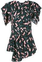 Marni shutter print blouse