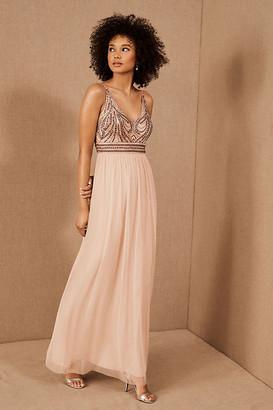 BHLDN Vilette Dress By in Pink Size 16