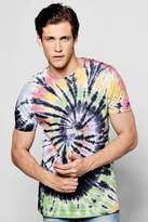 Boohoo Tie Dye T Shirt multi