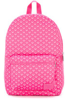 Armani Junior logo print backpack - kids - Polyester - One Size