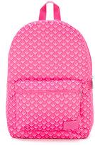 Armani Junior logo print backpack