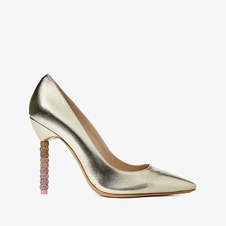 Sophia Webster Coco Crystal Pump (Champagne Ombre) Women's Shoes