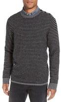 Nordstrom Men's Stripe Cashmere Crewneck Sweater