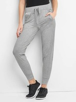 Gap Soft brushed tech jersey joggers