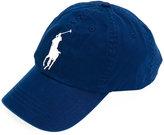 Polo Ralph Lauren logo baseball cap - men - Cotton/Lamb Skin - One Size