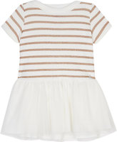 Petit Bateau Striped cotton-blend dress 3-36 months