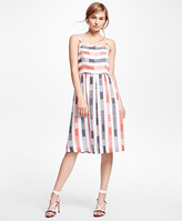 Brooks Brothers Cotton Printed Dress