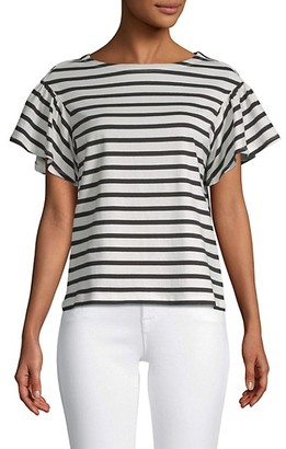 Kate Spade Striped Cotton Top