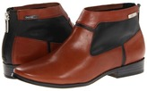Calvin Klein Irena (Cognac/Black Vacchetta) - Footwear