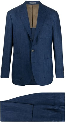 Brunello Cucinelli Two Piece Single Breasted Suit