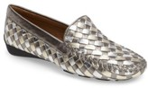 Robert Zur Women's Woven Venetian Loafer