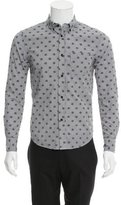 Band Of Outsiders Striped Polka Dot Shirt