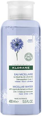 Klorane Micellar Water with Organically Farmed Cornflower 400ml