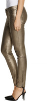J Brand L8001 metallic stretch-leather skinny pants