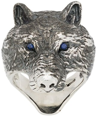 Nove25 Wolf ring
