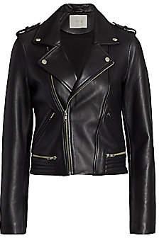 Maje Women's Leather Moto Jacket