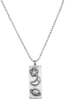Satya Sterling Silver Celestial Bar Necklace